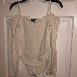 White long sleeves bodysuit